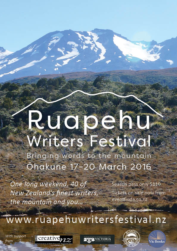 Ruapehu Writers Festival Poster Feb A4